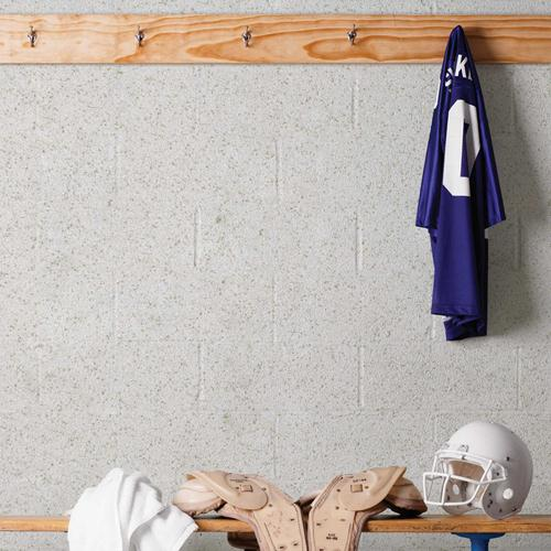 stonglaze wall glaze in football locker room